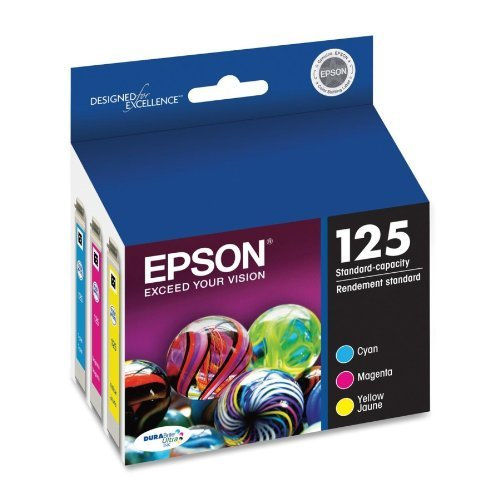 Epson America T125520 Color Multi Pack DURABrite 125