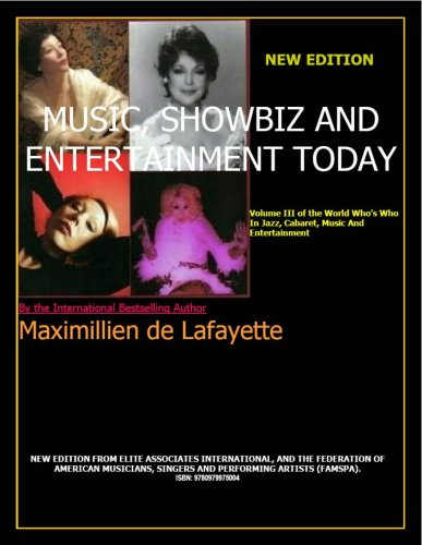 Music, Showbiz, And Entertainment Today Maximillien de Lafayette