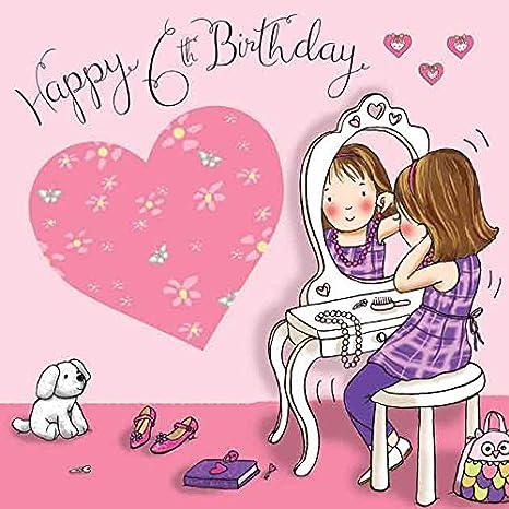 Twizler Compleanno Per Ragazza Con Tavolo E Specchio Six Year