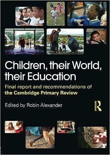 Amazon.com: Children, their World, their Education ...