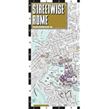 Rome Laminated City Center Street map Streetwise (Michelin Streetwise Maps)