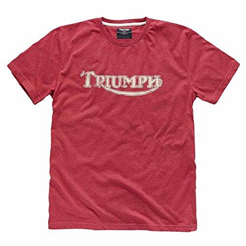 Triumph Shirt Motorcycle - Triumph Vintage Logo T-shirt XL Blue