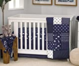 NoJo Aztec Mix & Match 100% Cotton Nursery Crib Quilt
