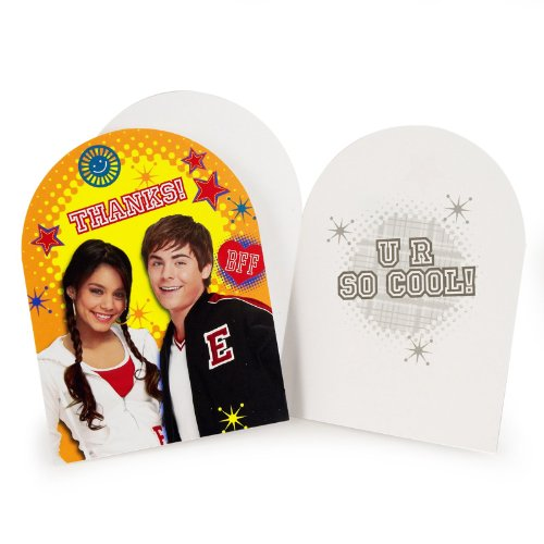 High School Musical Thank You Notes w/ Envelopes (8ct) ()