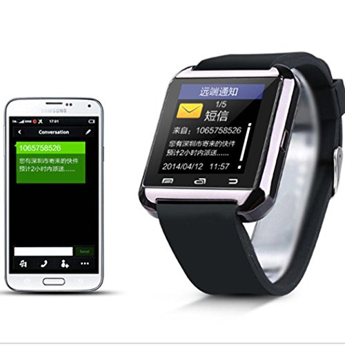 Smiela USB Bluetooth Smartwatch and Watch Cell Phone Mobile Phone Pedometer Smart Wrist Watch