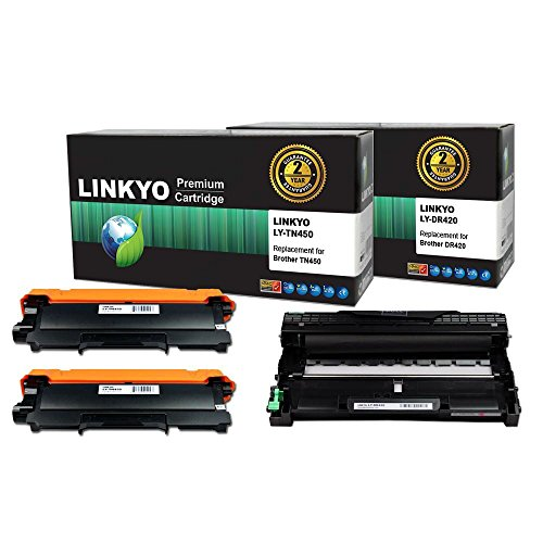 3-pack-linkyo-replacement-toner-and-drum-set-for-brother-tn450-tn420-dr420-2-high-yield-black-toner-