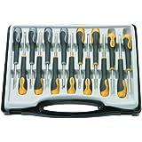 Rolson 28289 - Juego de destornilladores de precisión (15 piezas)