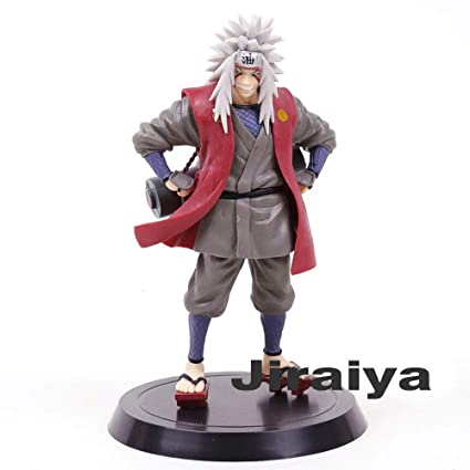 Fierce And Cool Cute Pvc Anime Figure Jiraiya Collectible Model Toy From The Hit Popular Anime Naruto Shippuden 18cm