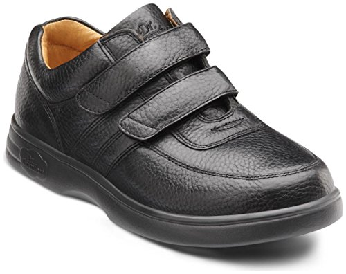 Dr. Comfort Women's Collette Black Diabetic Casual Shoes by Dr. Comfort