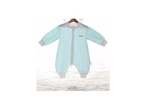 Saco de dormir con suela de cremallera unisex para bebés Pañuelos de dormir antiproyección de verano