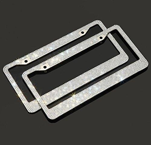 usa license plate frame bling - 4