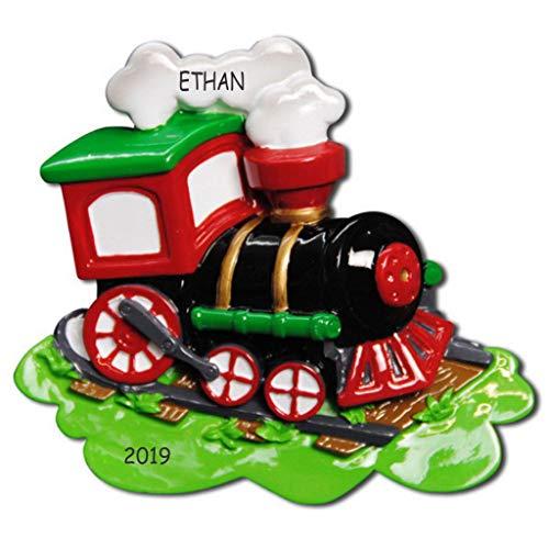 DIBSIES Personalization Station Personalized Choo-Choo Train Kids Christmas Ornament