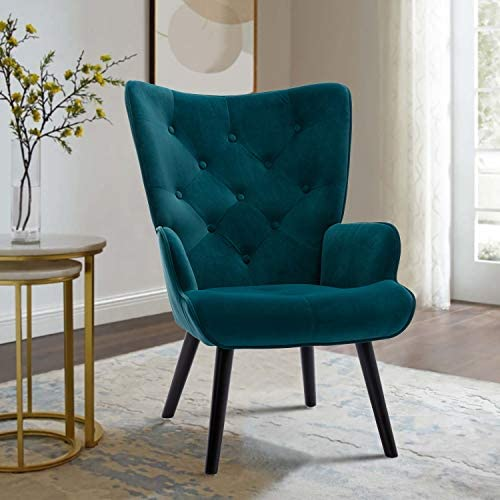 Goujxcy High Back Accent Chair