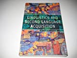 Linguistics and Second Language Acquisition, Cook, Vivian, 0312103557