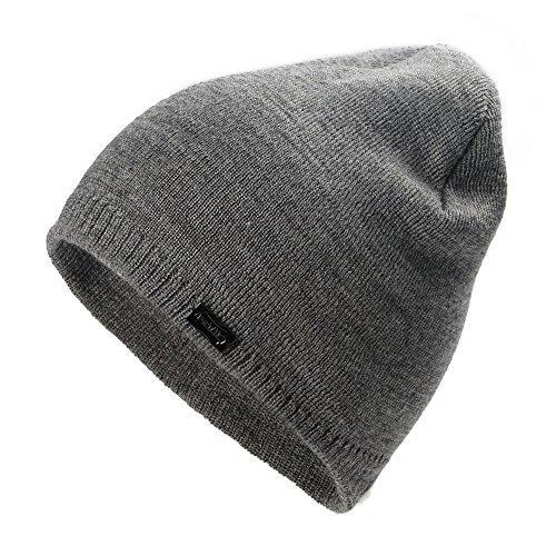 Fish Cuff Watch (FURTALK Women Watch Cap Wool Knit cuff Beanie Cap Braided Hat skull hats for men)