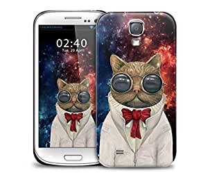 Astronaut Cat Samsung Galaxy S4 GS4 protective phone case