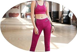 Giacca Rossa a Rete ad Asciugatura Rapida, Tuta Sportiva da Allenamento, Tuta a Tre Pezzi con Maniche Lunghe da Yoga