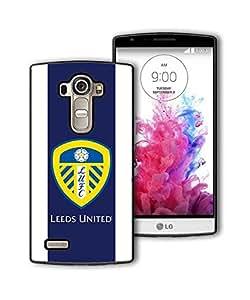 Leeds United F.C Logo LG G4 Funda Tough Anti Slip Personalized Plastic Back Case Cover For Guys