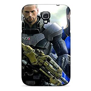 Hot Tpye Mass Effect 3 Case Cover For Galaxy S4