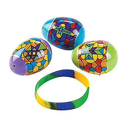 Religious Stained Plastic Bracelets Bracelet
