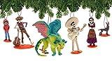 Disney Pixar Coco Deluxe 6-Piece Holiday Ornament Set - Day of The Dead - Dia de Los Muertos