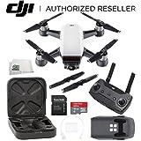 DJI Spark Quadcopter (Alpine White) + DJI Spark Remote Starter Bundle