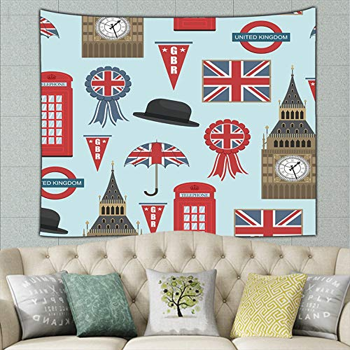 united kingdom graphics clipping british miscellaneous british Miscellaneous Tapestry Wall Hanging, Wall Tapestry with Art Nature Home Decorations for Living Room Bedroom Dorm Decor 50ʺ × 60ʺ -