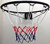 FXR Sports Steel Basket Ball Ring (Official Size - 45cm) - With Hoop, Net & Wall Mounting Fixings by FXR Sports