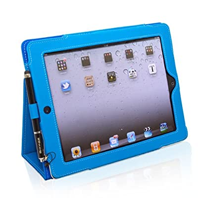 Snugg iPad 2 Case - Smart Cover with Flip Stand & Lifetime Guarantee for Apple iPad 2 by SNUGV