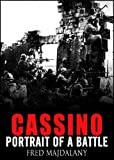 Front cover for the book The Battle of Cassino by Fred Majdalany