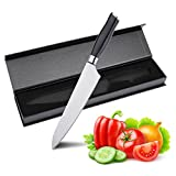 Xiao Lin Outdoor Chef's Knife -9 inch Chef Knife - Professional Kitchen Knife 9 inches for Chef -High Carbon Stainless Steel Sharp Blade Kitchen Knife