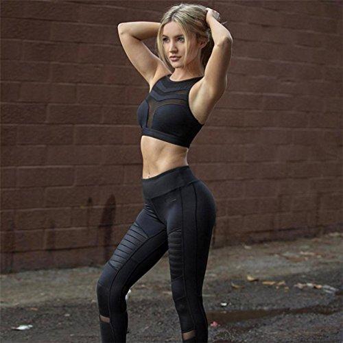 Luoluoluo Reggiseno Donne Top Tank Donna Stretch Continuit Soluzione Sport Yoga Senza Sportivo Reggiseno di Allenamento YwYzqtr