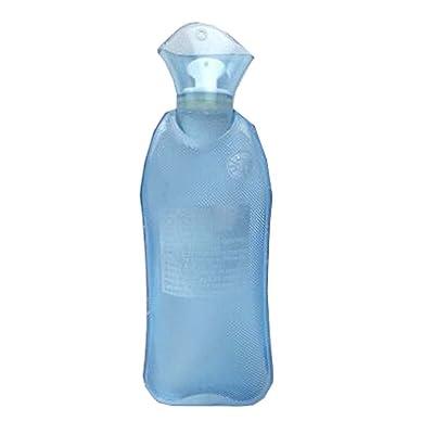 Bouteille d'eau chaude extérieure transparente, thérapie chaude pour le corps, couverture peut-être aléatoire