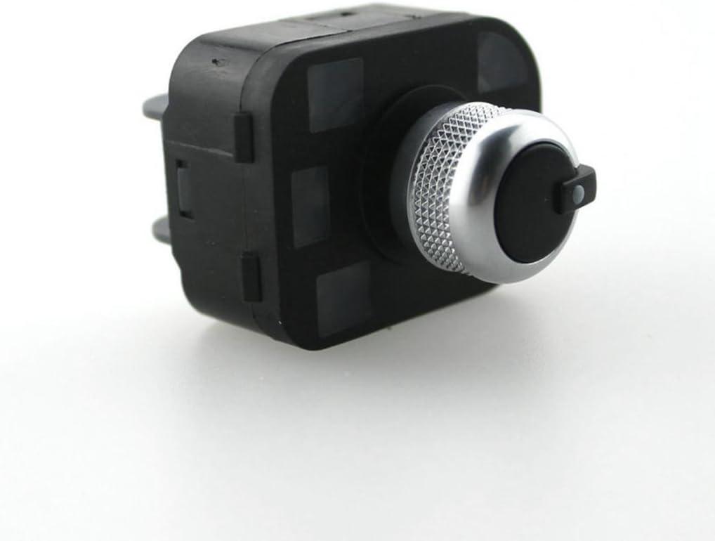 H Hilabee Chrom Spiegel Knopf Beheizt Schalter Für Audi A6 S6 Rs6 A4 B6 A2 B7 A3 Tt 8j Q7 Auto