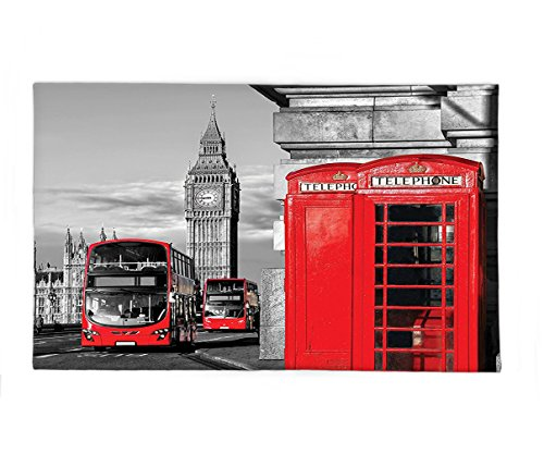 Interestlee Fleece Throw Blanket London Decor London Telephone Booth in the Street Traditional Local Cultural Icon England Uk Retro Print Red (7 Dwarfs Costumes Uk)