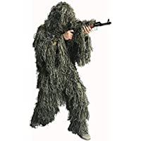Auscamotek Woodland Ghillie Suit for Hunting Camouflage...