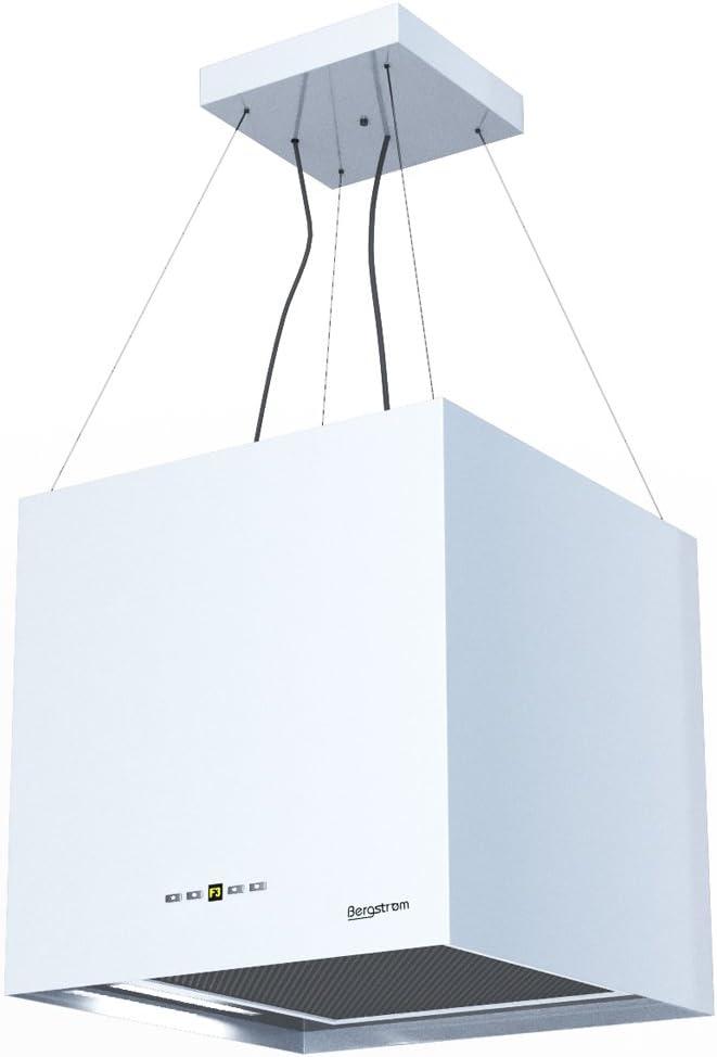 Campana extractora Isla – Campana Acero inoxidable freihängend Blanco bergstroemgn Bergstroem Clase energética A: Amazon.es: Grandes electrodomésticos