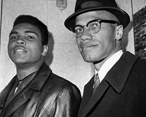 Muhammad Ali Malcolm X 1964 Poster Art Photo Hollywood Posters Artwork ()