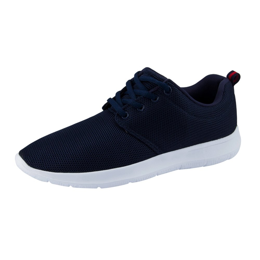 Spritech Mens Knit Comfortable Breathable Casual Air Sneakers Lightweight Tennis Walking Running Shoes