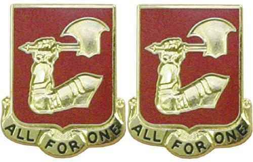 (40th Field Artillery Distinctive Unit Insignia - Pair)
