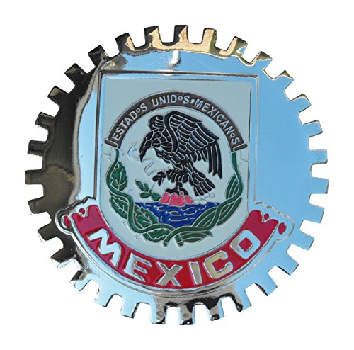 Classic Auto Spares B1102 Mexican Eagle Crest Car Grille Badge MEXICO -