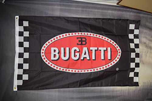 "NEOPlex 3' x 5' Automotive Flag - ""Bugatti"""