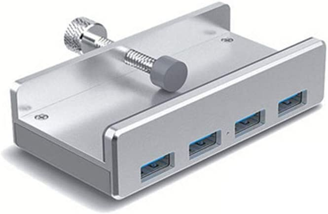 Suitable for Flash Drives and Mobile Hard Drives No Need to Install Drivers. USB Computer Expander Plug and Play WUYANJUN Aluminum Alloy Embedded Usb3.0 Interface Distributor
