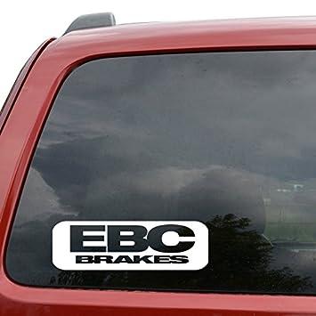 Ebc Brakes Performance Logo Vinyl Decal Sticker Car Window Motorcyle