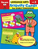 Activity Cards for Early Finishers, The Mailbox Books Staff, 1562348884