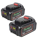 TenMore DCB205-2 5.0A Replacement Battery for DeWalt 20V Max XR DCB200 DCB204 DCD DCG DCF DCS DCK DCL Power Tools,2-Pack Review