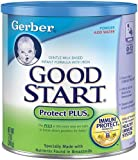 Gerber Good Start Protect PLUS, Powder, 12 Ounce Cans (Pack of 6)