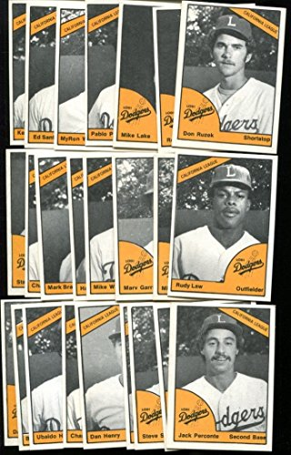 1977-tcma-lodi-dodgers-minor-league-complete-team-set-nmt-mt-