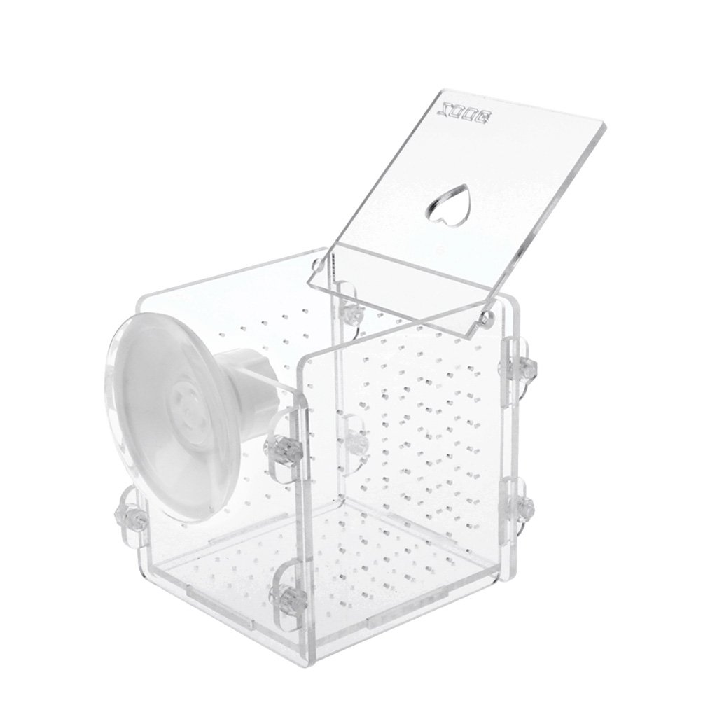 Forgun Aquarium Fish Breeding Isolation Box Fish Tank Incubator Breeder Baby Fish