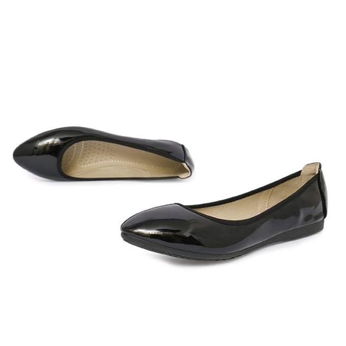 Zapatos De Trabajo Zapatos Planos Para Mujeres Mocasines Casuales Bombas Zapatos Dama De Honor Escolar Zapatos De Vestir: Amazon.es: Ropa y accesorios